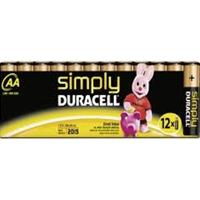 Duracell Simply AA 12 Pack Batteries