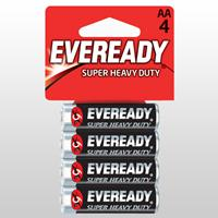 Eveready Super AA 4 Pack Alkaline Battery