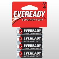 Eveready Super AA 4 Pack Alkaline Battery