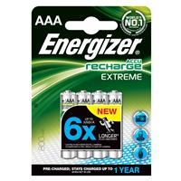 Energizer Rechargeable AAA 4 Pack 800mAh