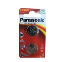 Panasonic Coin Cell CR2032 2 Pack Lithium Batteries