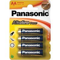 Panasonic AA 4 Pack Alkaline Batteries
