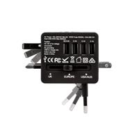 Veho VAA-200-TA1 Universal 4-Port USB 5V 3.5A World Travel Plug