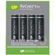 GP ReCyko+ Pro Pack of 4 AA 2000mAh Rechargeable Batteries