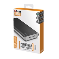 Trust 21795 Primo 20000mAh Black Power Bank