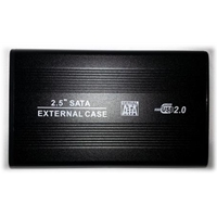 "Dynamode 2.5"" SATA External Enclosure USB2.0 up to 9mm HDD"