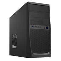 Cit Elite Micro Atx 1 X Usb 3.0 / 1 X Usb 2.0 Black Case With 500w Psu Cscitelite - Tgt01