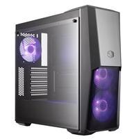 Cooler Master MasterBox Q300L RGB Mid Tower 2 x USB 3.0 Tempered Glass Side Window Panel Black Case