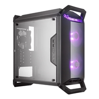Cooler Master MasterBox Q300P RGB Mini Tower 2 x USB 3.0 Side Window Panel Black Case