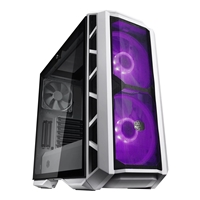 Cooler Master Mastercase H500p Mid Tower 2 X Usb 2.0 / 2 X Usb 3.0 Tempered Glass Side Window Panel Mesh White Case Mcm-h500p-wgnn-s00 - Tgt01