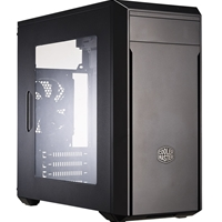 Cooler Master Masterbox Lite 3 Micro Atx 2 X Usb 3.0 Window Panel Version Black Case Mcw-l3s2-kw5n - Tgt01