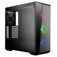 Cooler Master MasterBox Lite 5 RGB ATX 2 x USB 3.0 Tempered Glass Side Window Panel Black Case