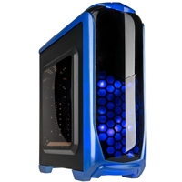Kolink Aviator Midi Tower Gaming Case - Blue Aviator-bu - Tgt01