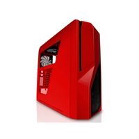 Nzxt Phantom 410 Enthusiast Midi Tower Case - Red Ca-ph410-r1 - Tgt01