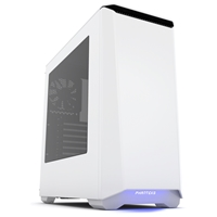 Phanteks Eclipse P400 Midtower 2 x USB 3.0 Side Window Panel Glacier White Case