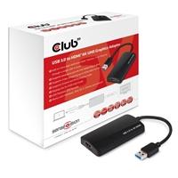Club3D CSV-2303H SenseVision 1 x USB 3.0 to 1 x HDMI 4K UHD MST Hub
