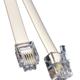RJ11 to RJ11 White Modem 20m Cable