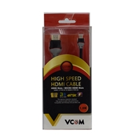 VCOM HDMI 1.4 (M) to HDMI Mini 1.4 (M) 1.8m Grey Retail Packaged Display Cable