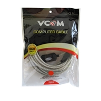 VCOM 2.0 A (M) to USB 2.0 A (F) with IC Power 5m Grey Retail Packaged Extension Data Cable