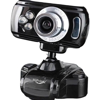 Hipoint 5 Mega Pixel Webcam With Light & Mic