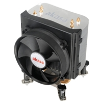 Akasa AK-968 X4 Universal Socket 92mm PWM 2500rpm Low Noise Fan CPU Cooler