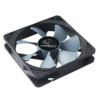 Akasa Piranha AK-FN072 120mm 1900RPM Black Air Ripper Blade Design Silent Case Fan