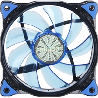 Akasa Vegas AK-FN091-BL120mm 1200RPM Blue LED Ultra Quiet Case Fan