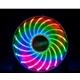 Akasa Vegas X7 AK-FN093 120mm 1200RPM RGB Colour LED MSI/ASU