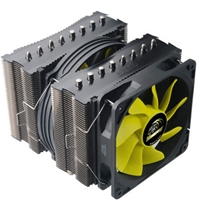 Akasa AK-CC4010HP01 Venom Medusa Universal Socket 120mm PWM 1900rpm High Performance Fan CPU Cooler