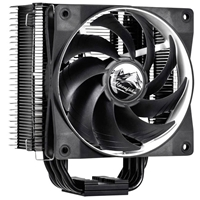 Alpenfohn Matterhorn Black Universal Socket 140mm PWM 1500rpm WingBoost Fan CPU Cooler
