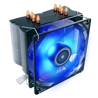 Antec A40 Pro Universal Socket 92mm PWM Blue LED 2200RPM High Performance Fan CPU Cooler