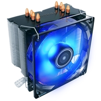 Antec C400 Universal Socket 120mm PWM Blue LED Fan 1900RPM High Performance Fan CPU Cooler