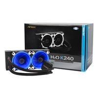 Antec Kuhler H2o K120 Aio 240mm Low Profile Liquid Cpu Cooler 0-761345-74016-6 - Tgt01