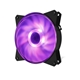 Cooler Master MasterFan MF121L RGB 120mm 1200RPM RGB LED Case Fa