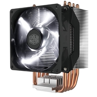Cooler Master Hyper H411R Universal Socket Single White LED Fan Black Fan CPU Cooler
