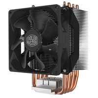 Cooler Master Hyper H412R Universal Socket Single Fan Black Fan CPU Cooler