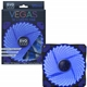 Evo Labs Vegas 12cm 9 Blade 32 x LED Blue Fan 1000rpm with Rubbe