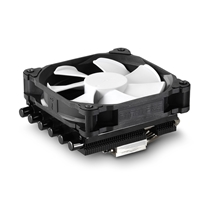 Phanteks PH-TC12LS_BK  Universal Socket 1 x 120mm PH-F120MP 1800RPM Premium Fan Black Low Profile Fan CPU Cooler