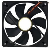 Target 120mm 2200RPM Black Temperature Controlled Case Fan
