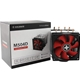 Xilence XC044 M504D Universal Socket Dual Fan Black & Red Fa