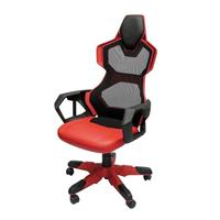 E-blue Cobra-r Red Mesh Pc Gaming Chair Eec307reaa-ia - Tgt01