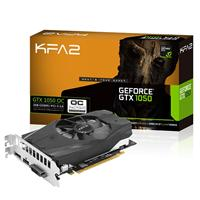 Kfa2 Geforce Gtx1050 Oc 2gb Ddr5 Large 90mm Fan Cooling System Graphics Card 50nph8dsn8ok - Tgt01