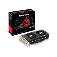 Powercolor Radeon Rx 460 Red Dragon 4gb Gddr5 Dual Fan Cooler Graphics Card Axrx 460 4gbd5-dhv2/ - Tgt01