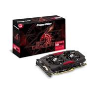 Powercolor Radeon Rx 580 Red Dragon 8gb Gddr5 Vr Ready Dual-fan Cooling System Graphics Card Axrx 580 8gbd5-3dhd/ - Tgt01