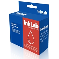 Inklab 1811 Epson Compatible Black Replacement Ink E1811 - Tgt01