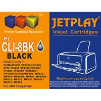 Jetplay CLI-8B Canon Compatible Black Replacement Ink;