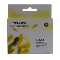 T554 Epson Compatible Yellow Replacement Ink Pl-554 - Tgt01