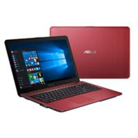 "Asus X540SA-XX308T Intel Celeron N3050 1.6GHz 1TB HDD 4GB RAM 15.6"" Widescreen DVD-RW Windows 10 Home Red Laptop"