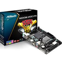 Asrock 960gm-vgs3 Fx Amd Socket Am3+ Micro Atx Ddr3 Vga Motherboard 960gm-vgs3 Fx - Tgt01