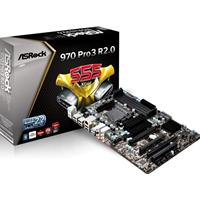 Asrock 970 Pro3 R2.0 Amd Socket Am3+ Atx Usb 3.0 Motherboard 970 Pro3 R2.0 - Tgt01